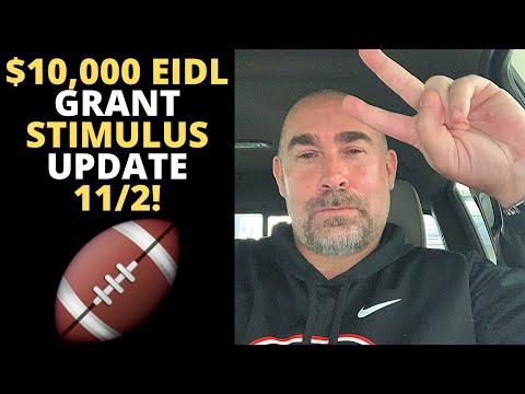 $10,000 EIDL GRANT STIMULUS UPDATE 11/2!