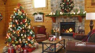 Holiday Lodge: Rustic Woodland Decorations