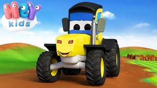 Tractor Song For Kids & More Nursery Rhymes By HeyKids!