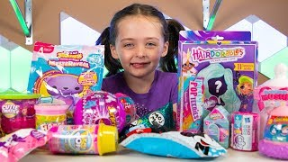 Squishy Surprise Toys for Kids Hairdorables NEW Blind Bags & Toy Eggs for Girls Kinder Playtime