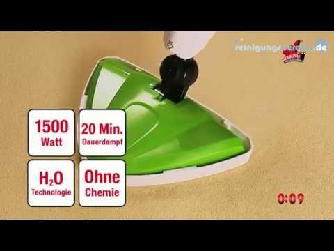 CLEANmaxx Dampfbesen 5in1 1500 W bei www.reinigungsberater.de