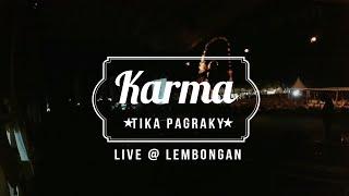 ROCKTOBER Feat TIKA PAGRAKY - Karma (Live @Lembongan)