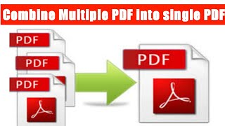 How to Combine pdf files Online | Different pdf files into one | mobile & Laptop - online & Offline