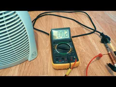 Электричество из сетевого шнура 2
