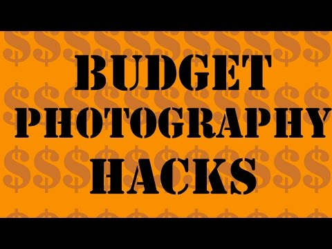 Budget Photography Hacks (Tight Ass Tips)