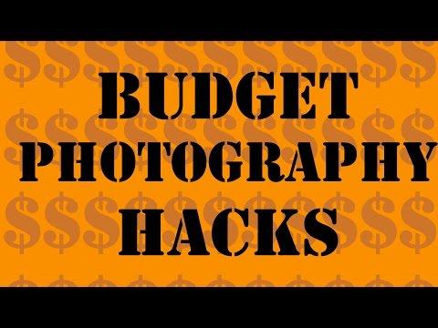 Budget Photography Hacks (Tight Ass Tips)