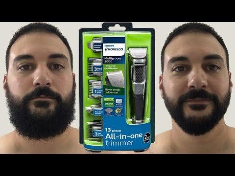 Beard Trimming – Philips Norelco Multigroom 3000 – Model MG3750