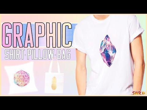 DIY Shirts, Kissen & Jutebeutel bedrucken ★ Last Minute Geschenkidee!