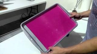 How To Make A Sticky Flock Rhinestone Workstation On A Budget