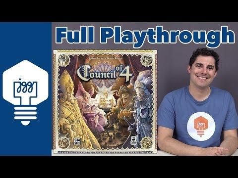 JonGetsGames - Council of 4 Full Playthrough