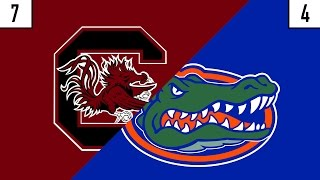 7 South Carolina vs. 4 Florida Prediction | Who