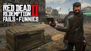 Red Dead Redemption 2 - Fails & Funnies #11 (Random & Funny Moments)