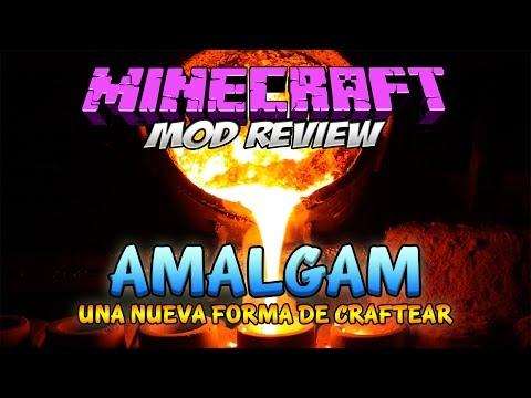 AMALGAM MOD - Mezcla metales [Forge][1.7.10][Español]