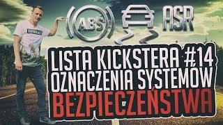 Oznaczenia systemów bezpieczeństwa - Lista Kickstera #14