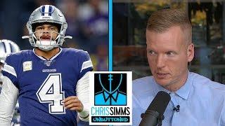 NFL Week 10 Game Review: Vikings vs. Cowboys | Chris Simms Unbuttoned | NBC Sports