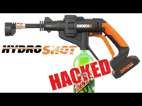 WORX Hydroshot  – Portable Cordless Water Power Cleaner – BEST REVIEW