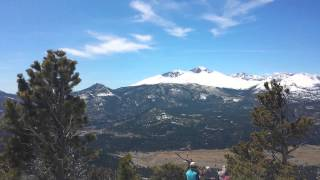Deer Mountain trail run summit panorama