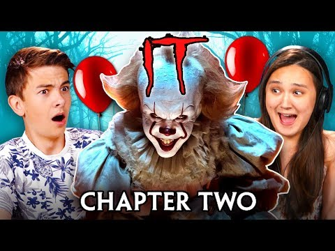 Download Teens React To It Chapter 2 Trailer And Easter Eggs HD Mp4 3GP Video and MP3