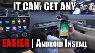 Plug and Play Android Head unit | DIY | 2018 iDoing |