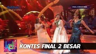 "Trio Cecepu - Julia Perez - Ayu Ting Ting - Zaskia Gotik "" Simalakama "" Kontes 2 Besar KDI (3/6)"