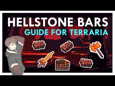 Terraria how to get hellstone bar - смотреть онлайн на Hah Life