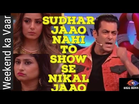 Bigg Boss 12 | Weekend Ka Vaar | Salman Khan Ne Dee Gharwaalon ko 1st Warning !
