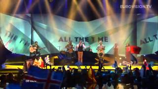 Gianluca  Tomorrow Malta) - LIVE - 2013 Semi-Final (2) Eurovision
