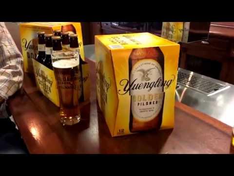 Yuengling releases Golden Pilsner in Pottsville, Pa.