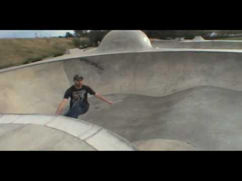 Rob and Shea at Missoula skatepark