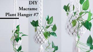 Macrame Plant Hanger #7 Supper Easy For Beginner Diy Tutorial