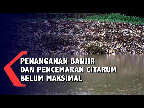 penanganan banjir dan pencemaran citarum belum maksimal