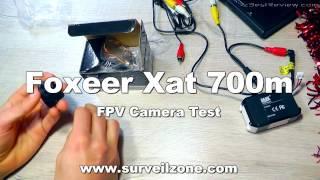 ✔ Mini FPV Camera Foxeer XAT 700M Lite 16$. Surveilzone.com!