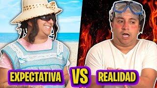 Vacaciones. Expectativa VS Realidad | Mario Aguilar