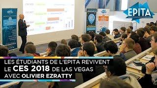 Retour sur le CES 2018 de Las Vegas avec Olivier Ezratty