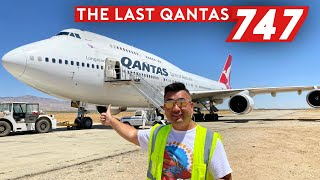 The Last Qantas Boeing 747 – An Emotional Farewell