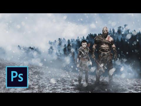 Photoshop God of War (Part-2) photo Manipulation Tutorial