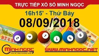 Xổ số Minh Ngọc™ Thứ Bảy 08/09/2018 - Kênh chính thức từ Minhngoc.net.vn