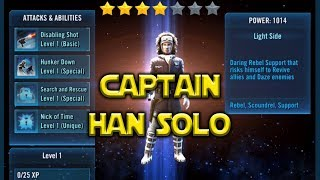 Star Wars: Galaxy Of Heroes - Captain Han Solo Full Kit