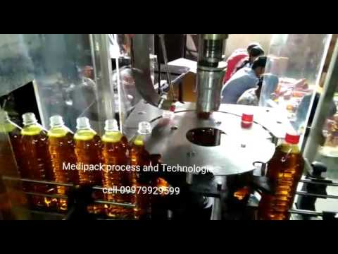 Edible Oil Capping Machine