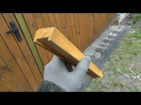 Как крепить деревянный штакет к металлическим перемычкам теория от Дачного мастера