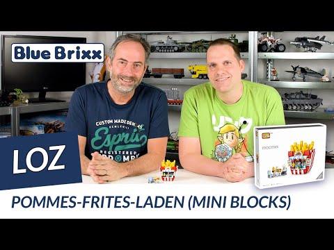 Pommes-Frites-Laden (mini blocks)
