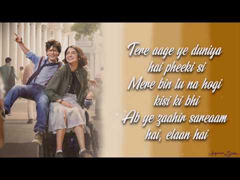 Download Mere Naam Tu - ZERO (Lyrics) | Shah Rukh Khan | Anushka Sharma | Abhay Jodhpurkar | Ajay-Atul HD Mp4 3GP Video and MP3