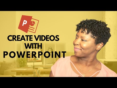 How to Create Your Online Course Videos with PowerPoint