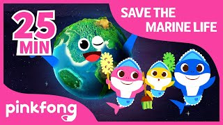 Clean the Sea and more | +Compilation | Shark Week | Pinkfong Songs for Children