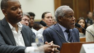 Reparations: Watch live: Danny Glover, Ta-Nehisi Coates testify in House hearing about slavery repar