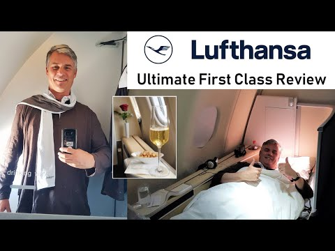Lufthansa - Ultimate First Class Flight Review