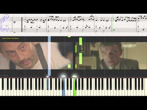"Sting - SHAPE OF MY HEART (piano cover) из к/ф ""Леон"" (Ноты)"