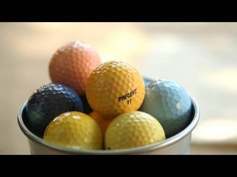 How to Dye Golf Balls
