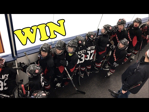 KiDs HoCkey - Mite Highlights win over depew saints / clarence mustangs