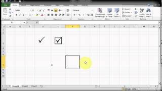 Microsof Excel Tips & Tricks - How to get Tick Marks Pair